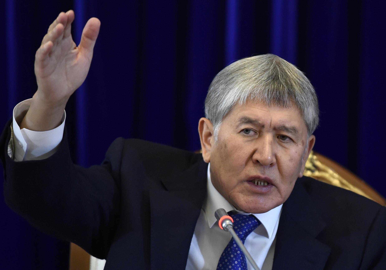 Almazbek Atambayev mwaka 2017 (picha ya kumbukumbu).