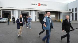 Fábrica de FagorBrandt en la ciudad de Vendôme (centro de Francia).