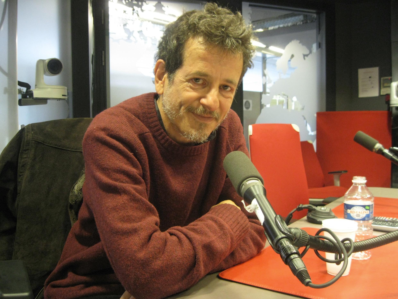 Sergio Boris en los estudios de RFI