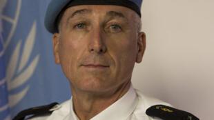Georges-Pierre Monchotte, commissaire de police de la Minustah en Haïti.