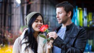 Imagen típica de la San Valentín.