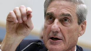 """资料图片:前美国联邦调查局局长穆勒担任""""通俄门""""调查特别检察官。2013年6月13日摄于华盛顿"""