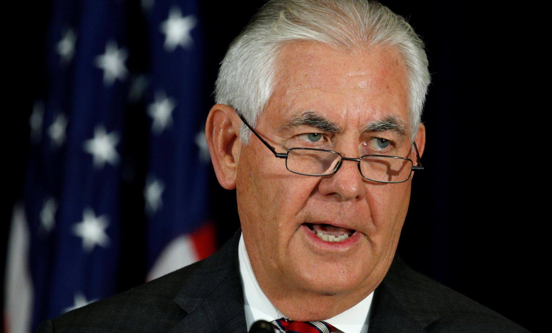 رکس تیلرسون، وزیر خارجۀ آمریکا