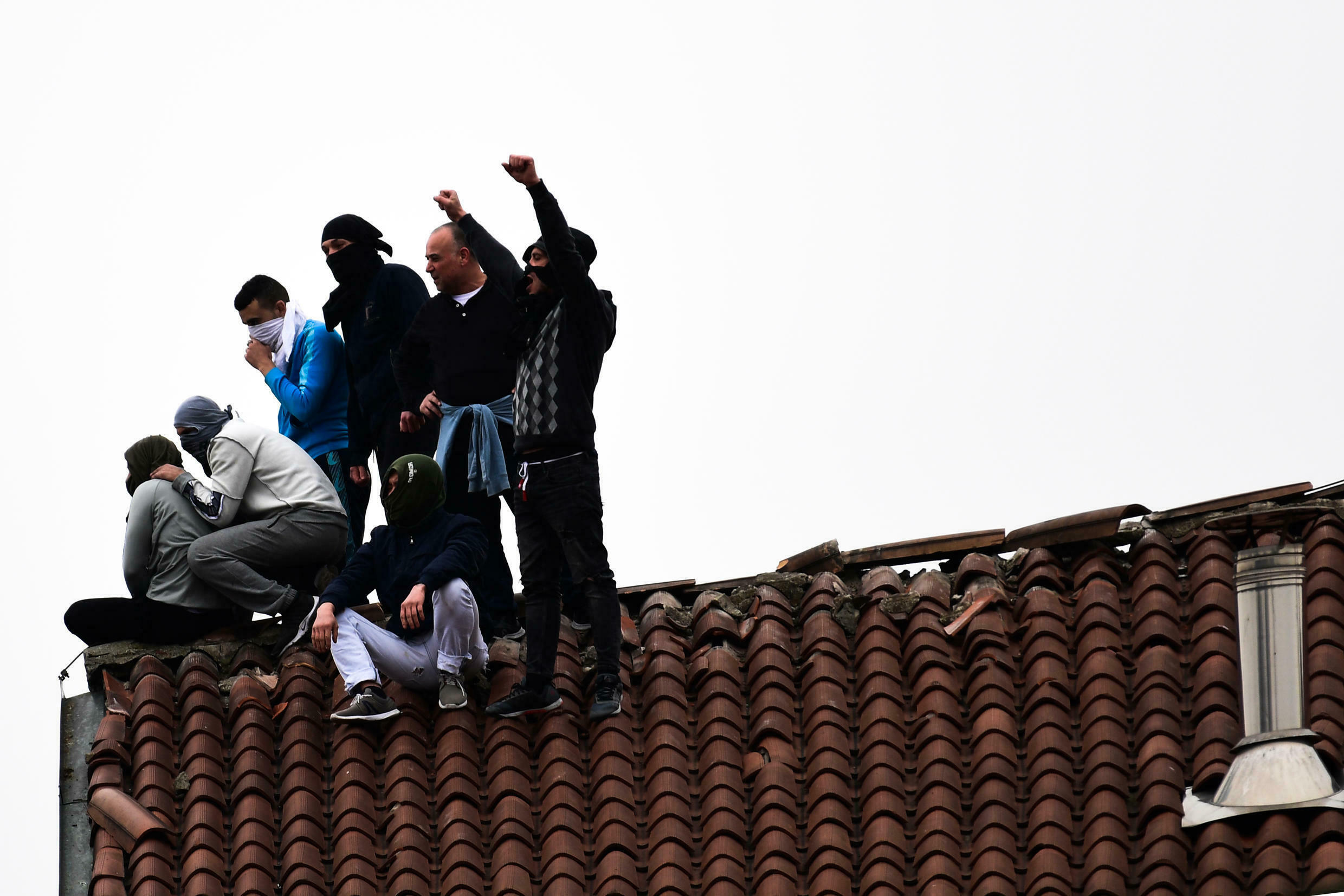 Prisoners rioted earlier this month in 27 institutions across Italy over coronavirus fears and the suspension of family visits