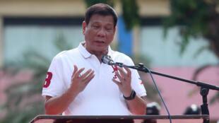 Rodrigo Duterte à Davao City dans le sud des Philippines, le 27 juin 2016. C'est à Davao, située à un millier de kilomètres de la capitale que Rodrigo Duterte compte passer le plus clair de ses six années de mandat.