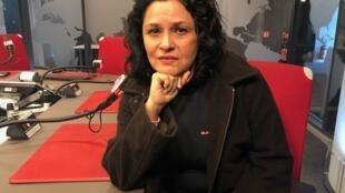 A cineasta Isa Albuquerque