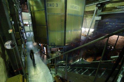 Le laboratoire souterrain de Modane