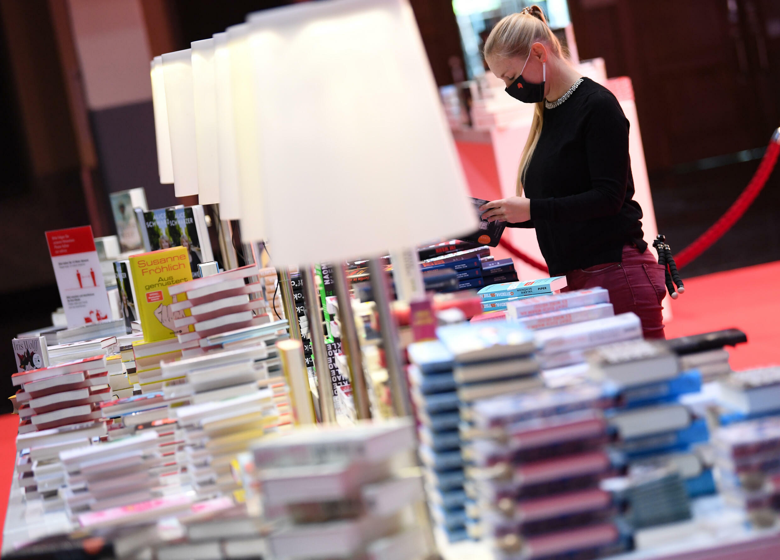 The Frankfurt book fair, the world's largest, returns this week as an in-person event after going almost fully digital last year to curb the coronavirus spread