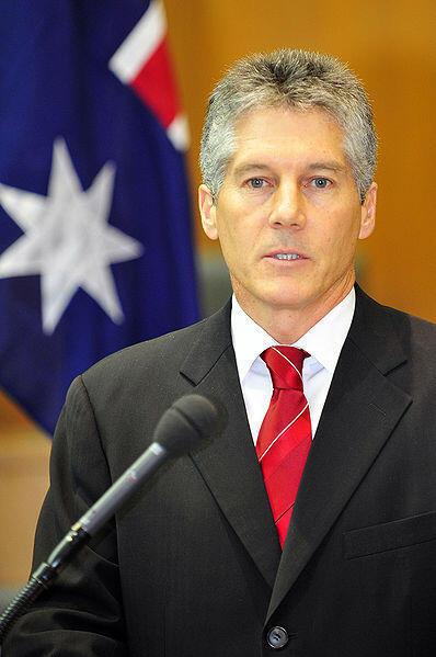 Bộ trưởng Quốc phòng Úc Stephen Smith