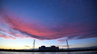La central nuclear de Fessenheim, en el este de Francia, el 20 de febrero de 2020