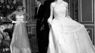 Brigitte Bardot model for Vogue (1950)