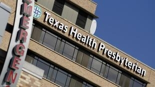 Hospital Presbiteriano do Texas, em Dallas, onde está internado paciente diagnosticado com Ebola.
