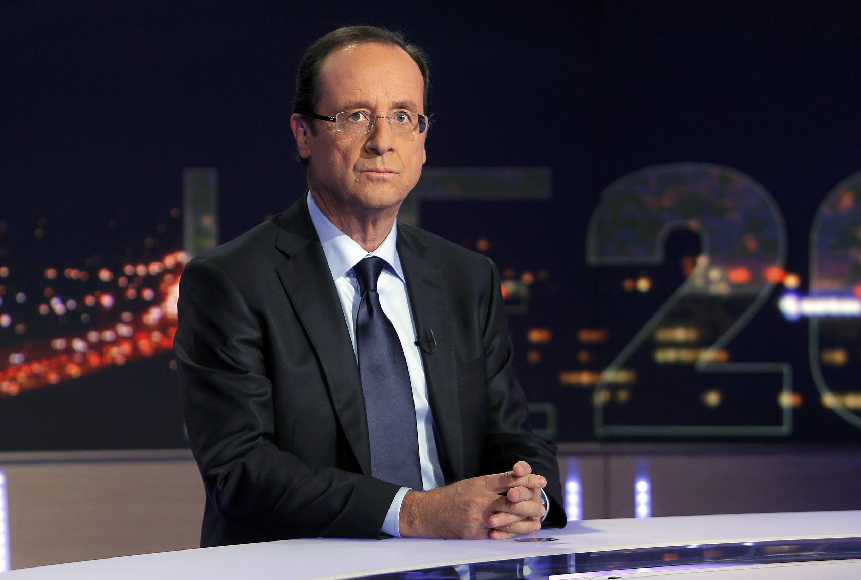Ông Francois Hollande, ứng cử viên tổng thống Pháp của đảng Xã Hội.