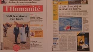 Diários  franceses  04 08 2020