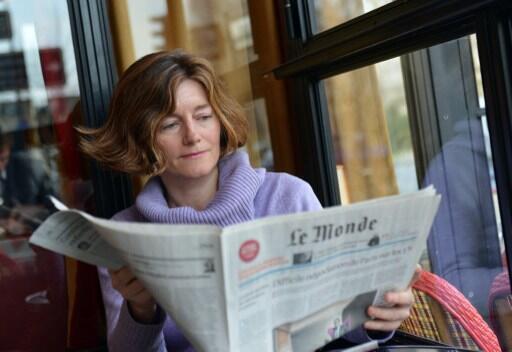 Nathalie Nougayrède à Paris, le 22 février 2013.