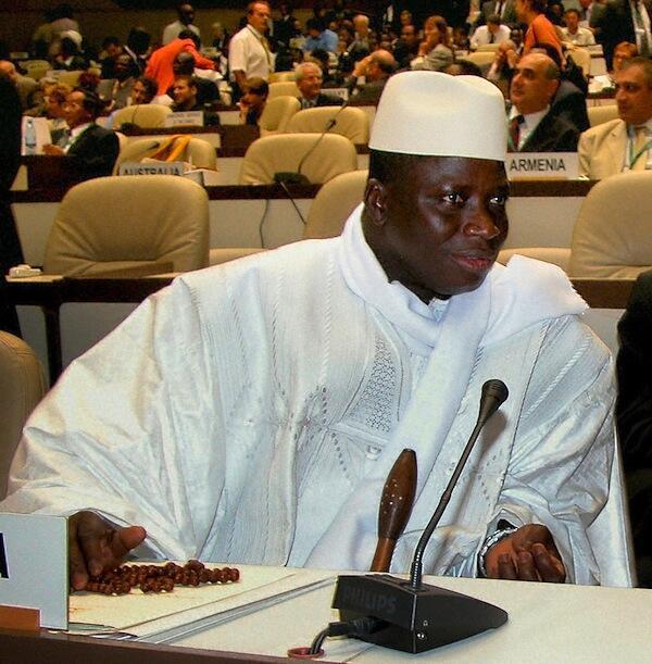 Rais wa Gambia Yahya Jammeh ambaye ametangaza siku tatu za mapumziko nchini mwake na wafanyakazi wanapaswa kufanyakazi kwa siku nne pekee