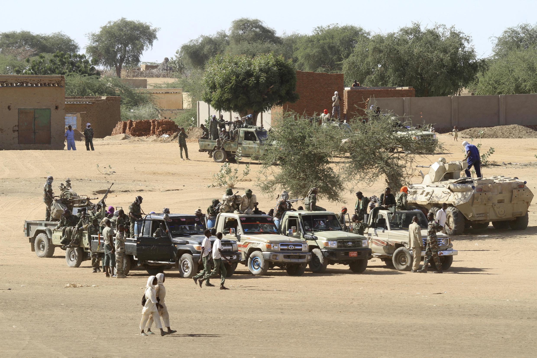Tropas sudanesas em Darfur