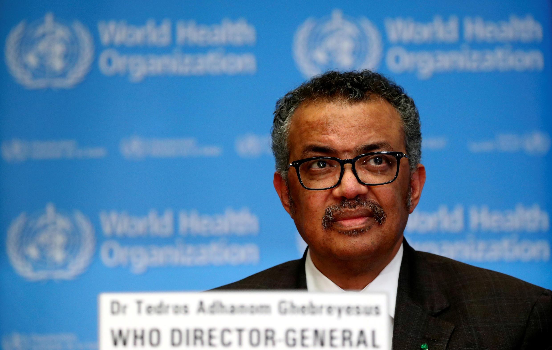 Генеральный директор Всемирной организации здравоохранения (ВОЗ) Тедрос Адханом Гебрейесус