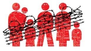 Couverture du rapport d'MSF sur les migrations au Maroc