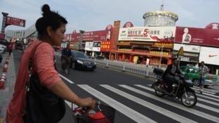 Hunchun, ciudad china en la frontera con Corea del Norte y China, en 2015.