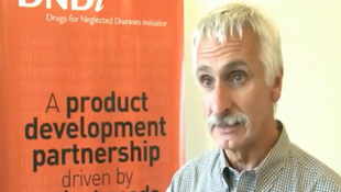 Bác sĩ Bernard Pécoul, Giám đốc DNDi (đối tác công-tư phi lợi nhuận chống sốt rét)