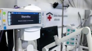L'hôpital de campagne terminé en mai à Berlin pourrait accueillir jusqu'à 500 patients atteint du coronavirus.