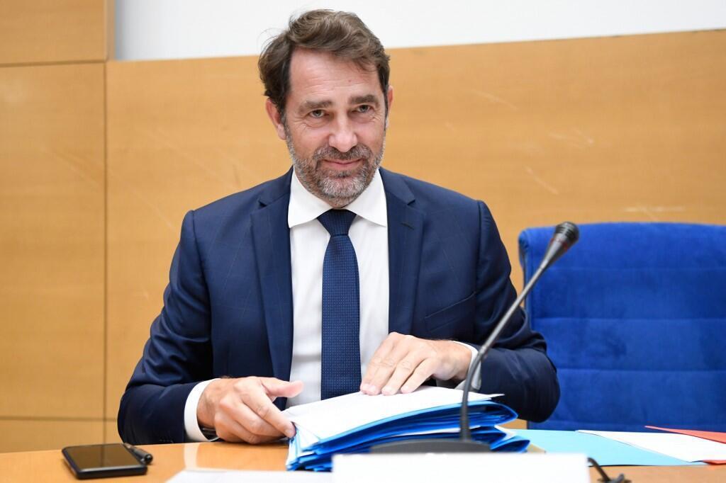 Le ministre français de l'Intérieur Christophe Castaner au Sénat, ce jeudi 25 juin 2020, à Paris.