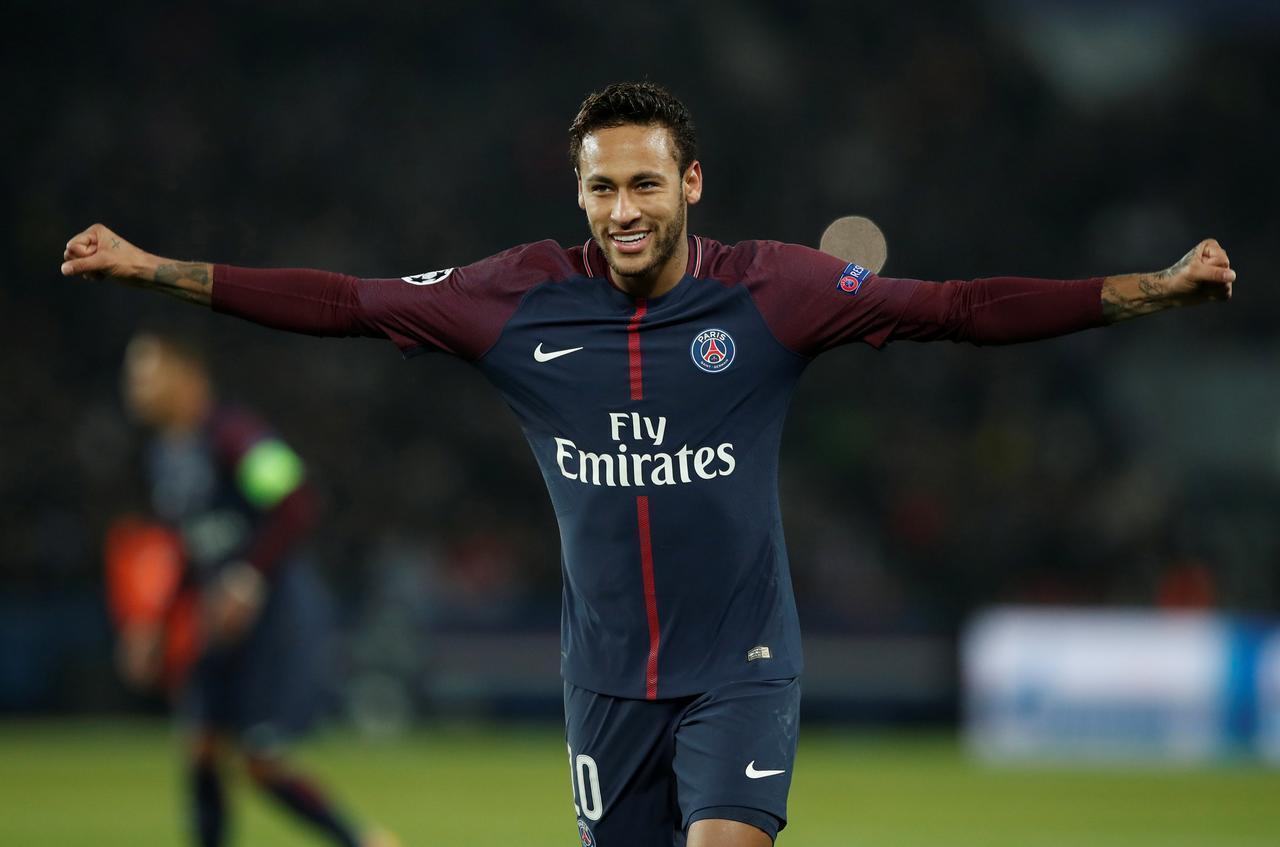 Dan wasan PSG Neymar Jr.
