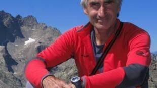 El rehén francés Hervé Gourdel era guía de montaña y fotógrafo.
