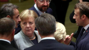 Merkel, Michel, Macron