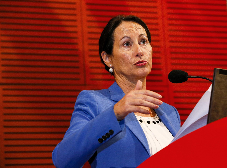 Ségolène Royal, ministre française de l'Ecologie, du Développement durable et de l'Energie.