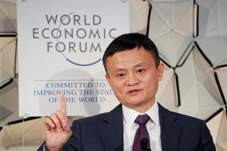 Jack Ma, le 23 janvier 2019.