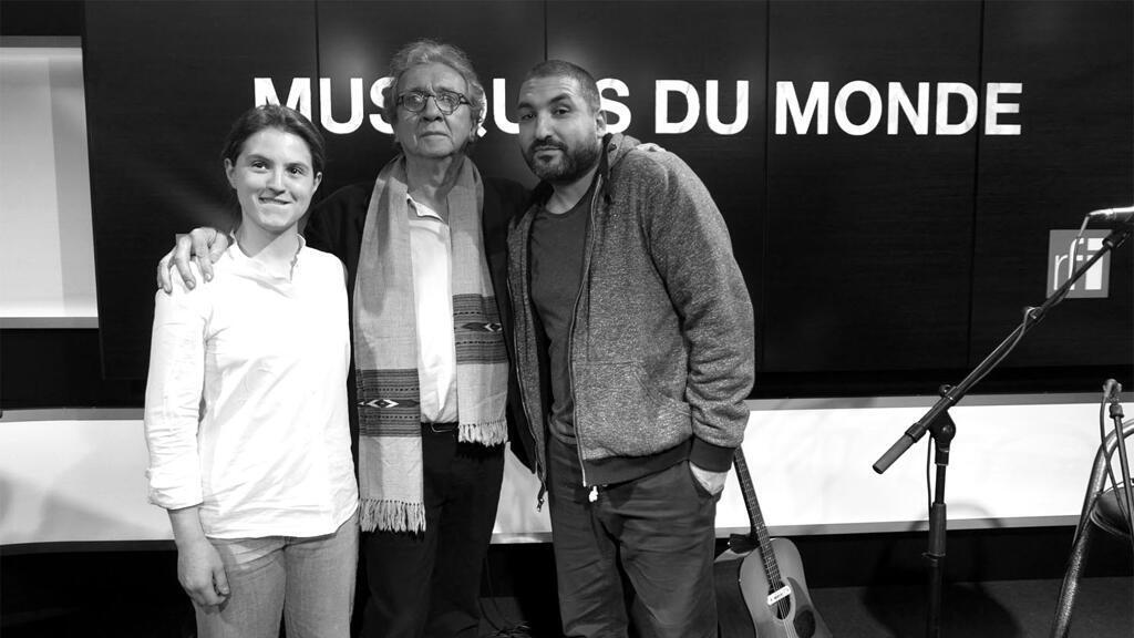 Annie Barbazza, John Greaves et Ibrahim Maalouf à RFI.