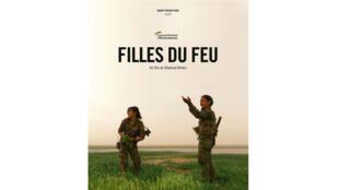 Affiche du film «Filles du feu», de Stéphane Breton.