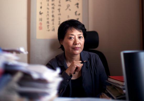北京众泽妇女法律咨询中心创建人郭建梅律师(照片日期不详)