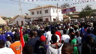 Al'ummar Gambia na murnar cika shakaru 53 da samun 'yancin-kai da kuma cikar Adama Barrow shekara guda kan karagar mulkin kasar