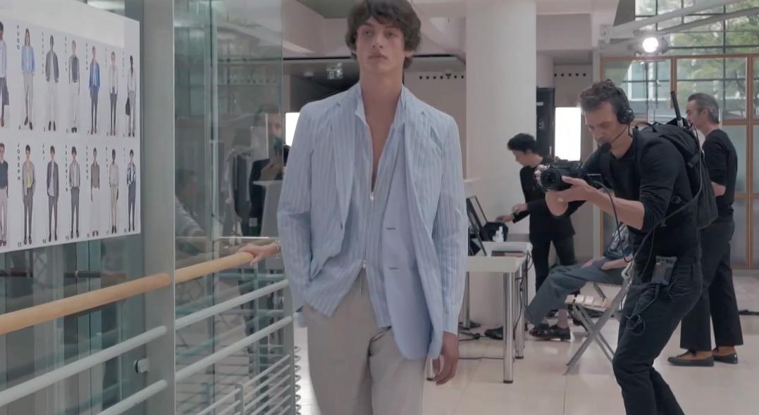 Hermès optou por dar destaque aos bastidores em seu primeiro desfile virtual. (05/07/2020)