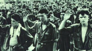 1951年朝鮮戰爭中被俘聯軍