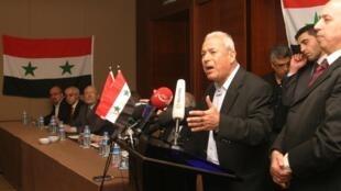 برهان غلیون، رئیس شورای ملی سوریه