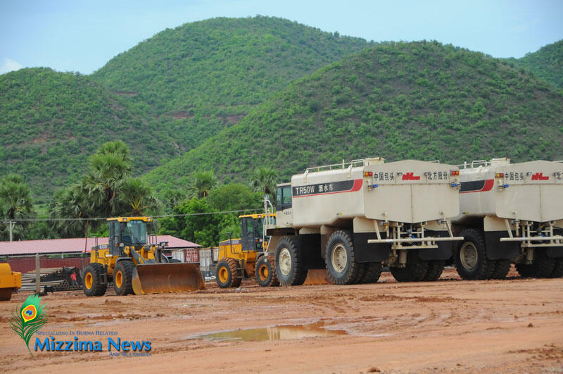 Mỏ Latpadaung tại Monywa
