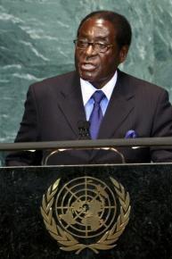 Rais wa Zimbabwe Robert Gabriel Mugabe