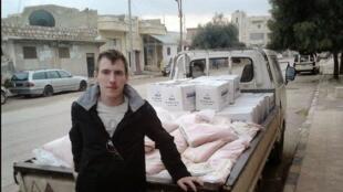 Peter Kassig, ex-refém americano do grupo Estado Islâmico.