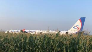 Jirgin Airbus mai lamba A321 da ya yi saukar gaggawa dauke da mutane 230 a birnin Moscow na Rasha