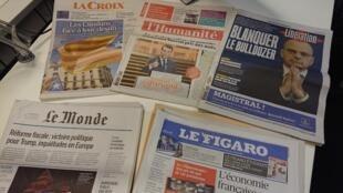 Diários franceses 20.12.2017