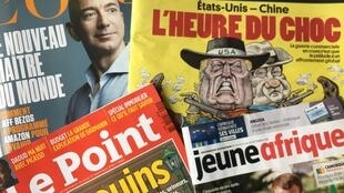 Capas de revistas 29-09-2018