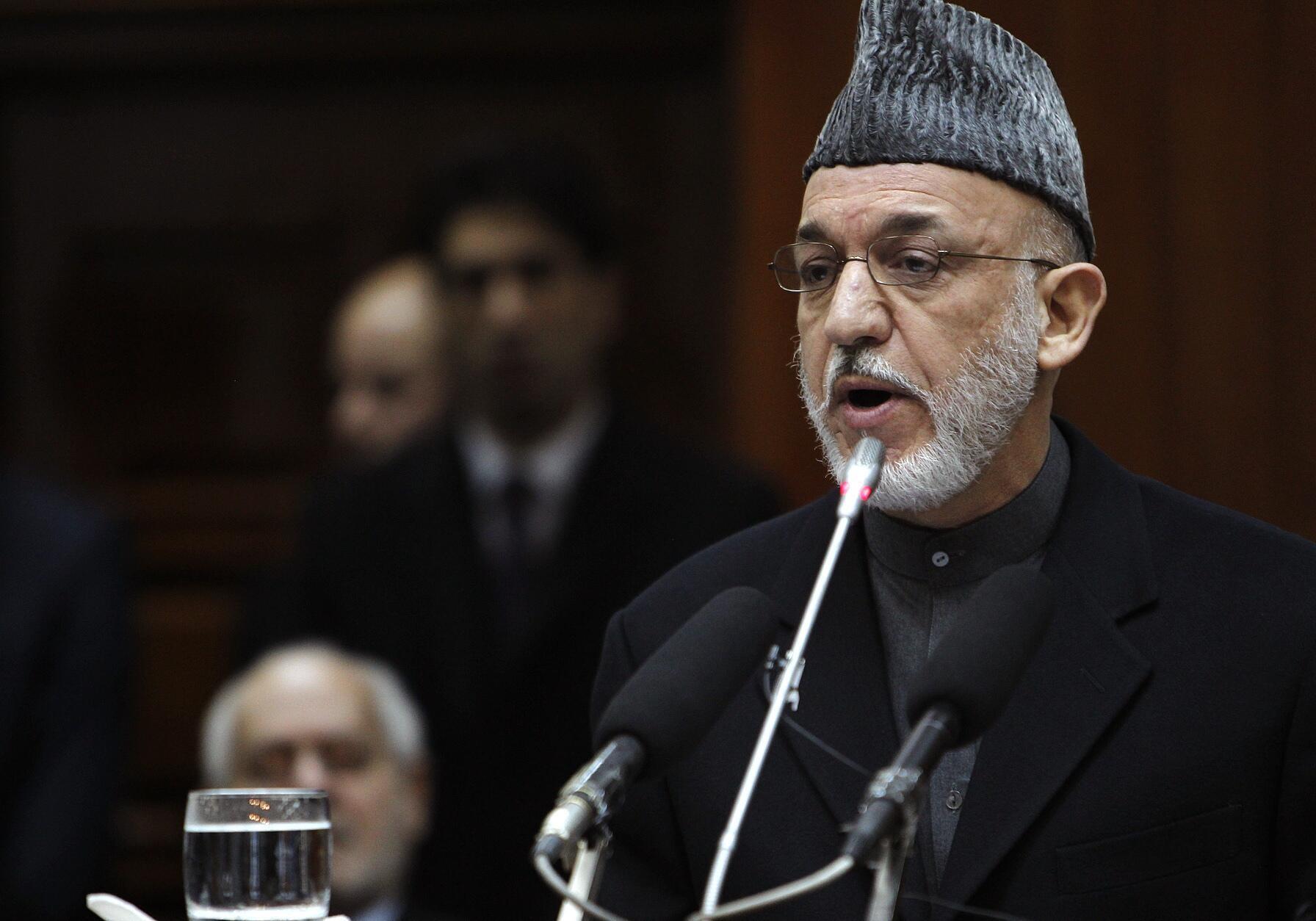 Rais wa Afghanistan Hamid Karzai