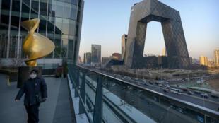 2月4日央视大楼一景