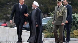 استقبال حسن روحانی از الهام علی اف