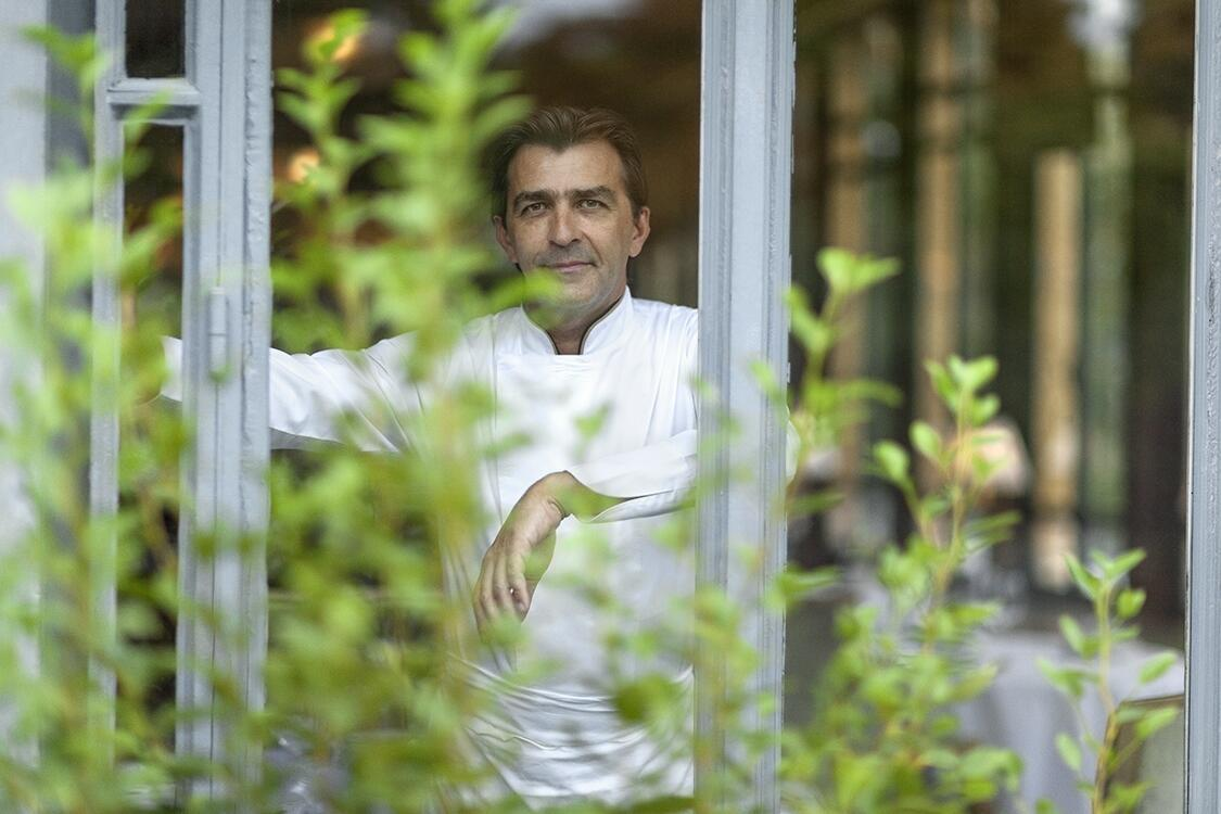 Portrait du Grand Chef Yannick Alléno.