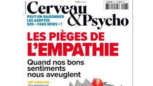 Couverture du livre «Cerveau & Psycho», les pièges de l'empathie.